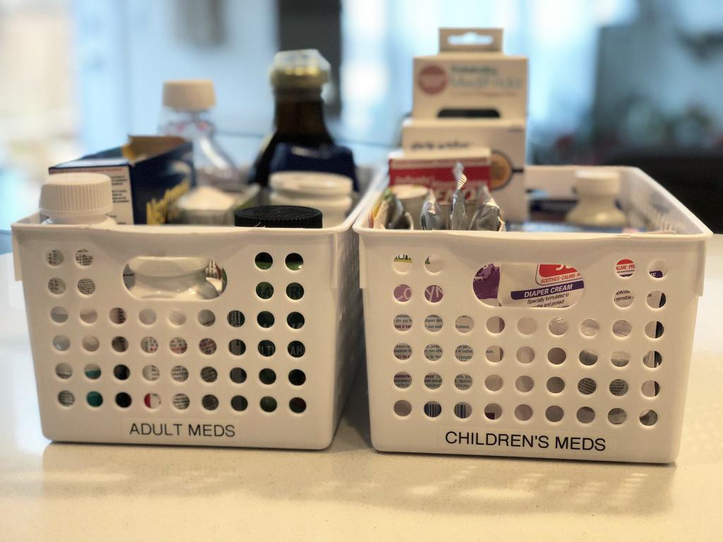 Organized medicines.